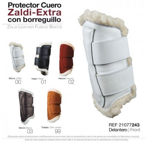 Zaldi leather front protectors